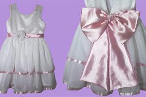 Como Fazer Vestido de Festa Infantil  7949a778408